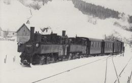 Ybbstalbahn 298.207 + 598.02 Mit GW 65 In Pfaffenschlag,ungelaufen - Trains