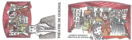 CDV CARTE DE VISITE GUIGNOL GNAFRON MADELON  LAURENT MOURGUET - Cartes De Visite