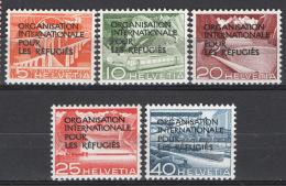 Svizzera 1950 Servizio Unif. S354/58 **/MNH VF - Servizio