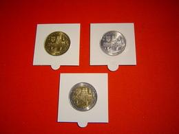 LOT PIECES 1, 2 ET 10 EURO TEMPORAIRE VILLE D'ORLEANS - Euros Of The Cities
