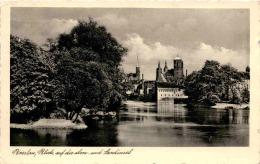 Breslau - Blick Auf Die Dom- Und Sandinsel * Feldpost 25. 9. 1939 - Polen