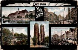 Breslau - Viele Grüsse - 5 Bilder * 25. 3. 1912 - Polen