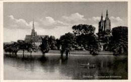 Breslau - Dominsel Mit Kreuzkirche - Polen