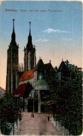 Breslau - Dom (mit Den Neuen Turmspitzen) * Feldpost 11. 9. 1917 - Polen