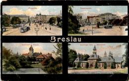 Breslau - 4 Bilder * 14. 1. 1906 - Polen