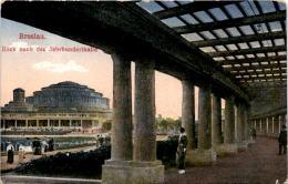 Breslau - Blick Nach Der Jahrhunderthalle * 27. 3. 1916 - Polen