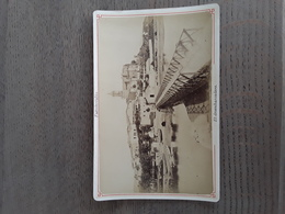 GRANDE FOTO AFMETINGEN 16,50 CM OP 10,50 CM SPAIN SPANJE FUENTERRABIA EL DESENBARCADERO - Photographs