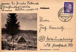 Postkarte Mit Bild: Im Isergebirge * Poststempel Greiffenberg 21. 6. 1944 - Polen