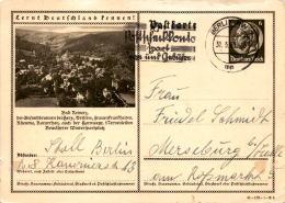 Postkarte Mit Bild: Bad Reinerz * Poststempel Berlin 31. 3. 1943 - Polen