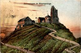 Schneekoppe Im Riesengebirge * Karte Von 1921 - Polen