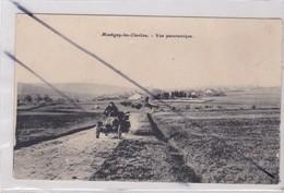 Montigny Les Cherlieu (70) Vue Panoramique .premier Plan Ancienne Voiture Renault - Sin Clasificación