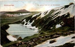 Riesengebirge - Der Grosse Teich Mit Der Schneekoppe (2472) * 7. 8. 1923 - Polen
