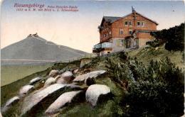 Riesengebirge - Prinz-Heinrich-Baude (827) * Feldpost 13. 12. 1917 - Polen