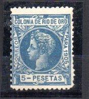 Sello Nº 15  Rio Oro - Rio De Oro