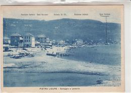 Pietra Ligure-Spiaggia A Levante-Vg 1942-Integra E Originale 100%an - Savona