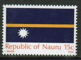 Nauru Stamp From 1969 To Celebrate The Flag Of Independence. - Nauru