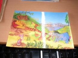 3 D Postcards Winnie The Pooh  Walt Disney Productions - Disney