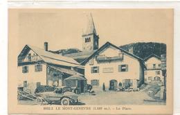 Montgenevre  - La Place - Automobile -  CPA° - Other Municipalities