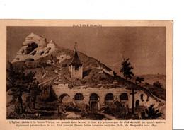 HAUT-ISLE  (S-et-O). L'Eglise, Dédiée à La Sainte-Vierge, Est ....Lith. De Maugendre Vers 1850. - France