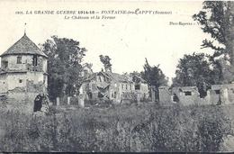SOMME - 80 - FONTAINE LES CAPPY Près De Ham - 53 Hab - Château Et La Ferme - Ham