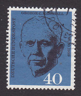 Germany, Scott #821, Used, Marshall, Issued 1960 - [7] Federal Republic