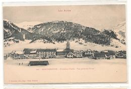 Montgenevre  -  Vue Generale En Hiver - Frontiere Italienne -  CPA° - Other Municipalities