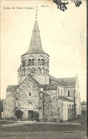 Eglise De Saint Sulpice Nievre - France