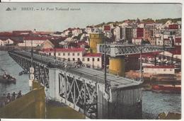 BREST  Le Pont National Ouvert   Edition  Masson - Brest