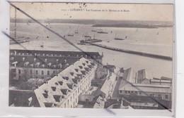 Lorient (56) Les Casernes De La Marine Et La Rade - Lorient