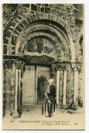 CPA - Carte Postale - France - Perros-Guirec - Portail De L'Eglise ( CP4429 ) - Perros-Guirec