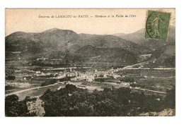 34 Environs De Lamalou Les Bains Herepian Et La Vallée De L' Orb Cpa Cachet Lamalou 1920 - Other Municipalities