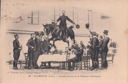 Saumur Dernier Convive Ou Le Déjeuner Interrompu (paard Cheval) - Saumur
