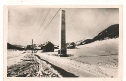 Montgenevre  - L'Obelisque Et La Douane -  CPSM° - Other Municipalities