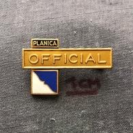 Badge Pin ZN006998 - Skiing / Ski Jumping Yugoslavia Slovenia Planica OFFICIAL - Winter Sports