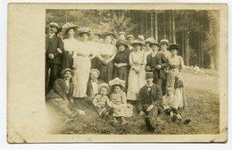 Photographie - Photo De Famille - A Identifier - Début 1900 ( CP4430 ) - Anonymous Persons