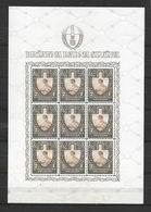 Croazia (indipendente) 1943 Fronte Del Lavoro. Serie Completa Nuova/mnh** In Minifogli - Croazia