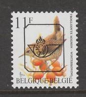 TIMBRE NEUF DE BELGIQUE - OISEAUX DE BUZIN : TROGLODYTE MIGNON N° COB PO 836 GBI - Passereaux
