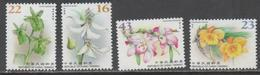 TAIWAN, 2018, MNH, FLOWERS, ORCHIDS, 4v - Orchids
