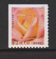 USA , 2018, MNH, FLOWERS, ROSES, 1v SELF-ADHESIVE - Roses
