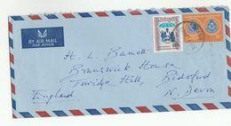 1973   MALAYSIA Cover INTERPOL POLICE Stamps To GB  Malaya - Malaysia (1964-...)