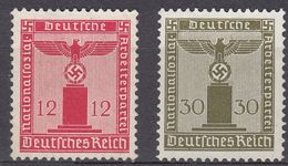 DEUTCHES REICH - 1938 - Due Valori Nuovi: Yvert Servizio 122 E 125,  Come Da Immagine. - Oficial