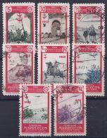 ESPAÑA/MARRUECOS 1952 - Edifil #361/68 - VFU - Spaans-Marokko
