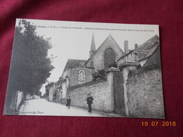 CPA - Redon - Entrée De La Retraite - Hôpital Complémentaire (guerre De 1914-18) Et Route De Ste-Marie - Redon