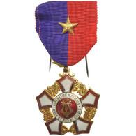France, Fédération Musicale Du Nord-Pas-de-Calais, Médaille, Non Circulé - Army & War
