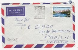 G048 - Australie - Lettre De Sydney Le 13/11/1956 - 2s Jeux Olympiques De Melbourne - 1952-65 Elizabeth II : Ed. Pré-décimales