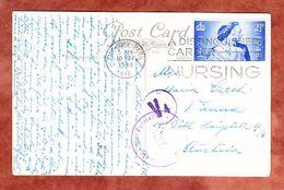 AK London Piccadilly Circus, EF Koenigspaar, MS Finsbury Park, Nach Wien, Zensur 1948 (54689) - Brieven En Documenten