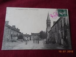CPA - Coësmes - La Place De L'Eglise - Autres Communes