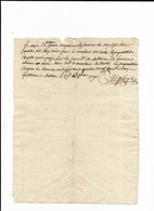 BELBEZ LES TOULOUSE L'UNION TOULOUSE RECU IMPOSITIONS ROYALES ANNEE 1790 - Historical Documents