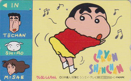 Télécarte Japon / 110-011 - MANGA - CRAYON SHIN-CHAN - ANIME Japan Phonecard - MOVIC - 10353 - Comics