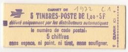 CARNET N°1972C1 - Uso Corrente